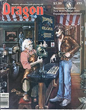 Dragon Magazine Issue #95 Vol. IX, No.: Cook, Mike (Publisher)