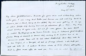 Autograph Letter Signed: LEWIS, C.S. [CLIVE