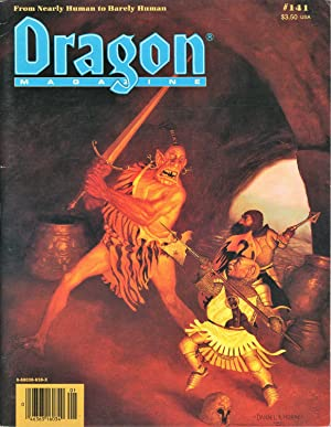 Dragon Magazine Issue #141 Vol. XIII, No.: Cook, Mike (Publisher)