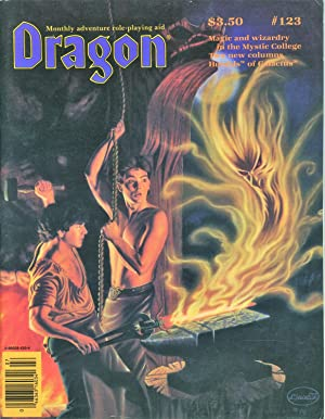 Dragon Magazine Issue #123 Vol. XII, No.: Cook, Mike (Publisher)