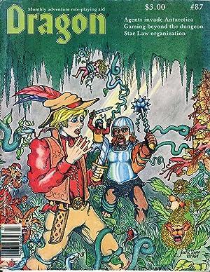 Dragon Magazine Issue #87 Vol. IX, No.: Cook, Mike (Publisher)