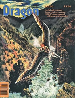 Dragon Magazine Issue #124 Vol. XII, No.: Cook, Mike (Publisher)