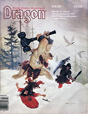 Dragon Magazine Issue #119 Vol. XI, No.: Cook, Mike (Publisher)