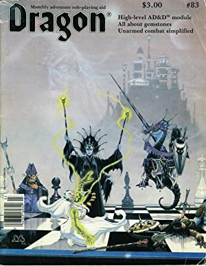 Dragon Magazine Issue #83 Vol. VIII, No.: Cook, Mike (Publisher)