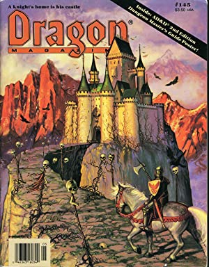 Dragon Magazine Issue #145 Vol. XIII, No.: Cook, Mike (Publisher)