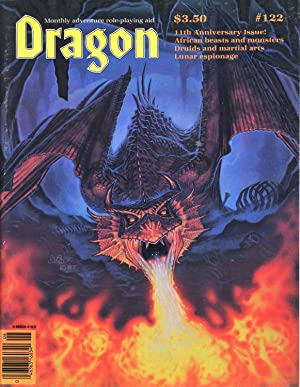 Dragon Magazine Issue #122 Vol. XII, No.: Cook, Mike (Publisher)