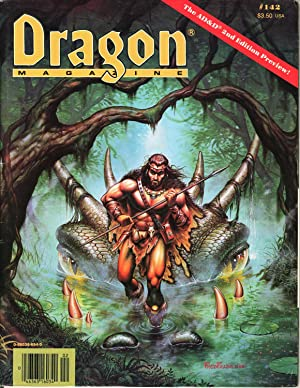 Dragon Magazine Issue #142 Vol. XIII, No.: Cook, Mike (Publisher)