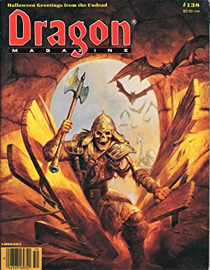 Dragon Magazine Issue #138 Vol. XIII, No.: Cook, Mike (Publisher)
