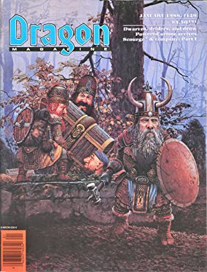 Dragon Magazine Issue #129 Vol. XII, No.: Cook, Mike (Publisher)