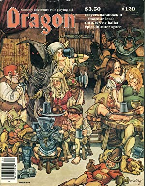 Dragon Magazine Issue #120 Vol. XI, No.: Cook, Mike (Publisher)
