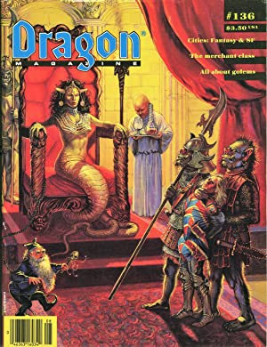 Dragon Magazine Issue #136 Vol. XIII, No. 3 August 1988: Cook, Mike (Publisher)