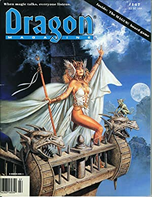 Dragon Magazine Issue #147 Vol. XIV, No.: Cook, Mike (Publisher)