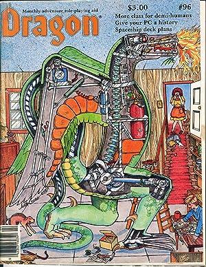 Dragon Magazine Issue #96 Vol. IX, No.: Cook, Mike (Publisher)