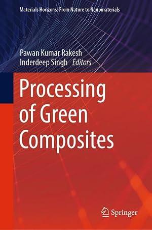 Processing of Green Composites: Pawan Kumar Rakesh