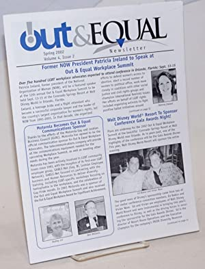 Out & Equal newsletter: vol. 4, #2,: Mann, Allan, editor