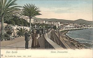 Postkarte Carte Postale San Remo Coso Imperatrice