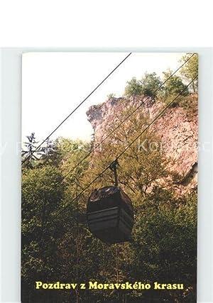 Postkarte Carte Postale Seilbahn Lanova Draha Macocha
