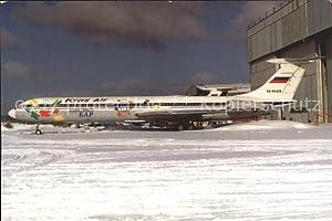 Postkarte Carte Postale Flugzeuge Zivil Kras Air