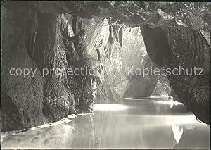 Postkarte Carte Postale Höhlen Caves Grottes Moravsky