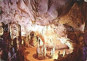 Postkarte Carte Postale Höhlen Caves Grottes Slovensky