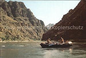 Postkarte Carte Postale Boote Rafting Hells Canyon