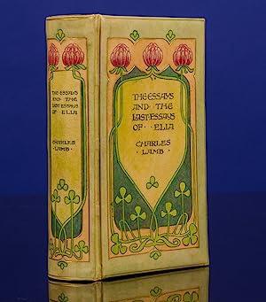 Essays of Elia, The: CHIVERS, Cedric, binder;