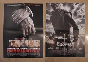 Poster doble cine: Beowulf y Promesas del: Varios
