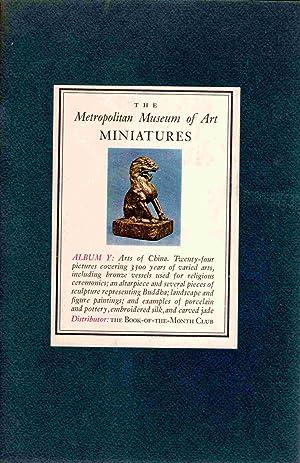 The Metropolitan Museum of Art Miniatures: Album