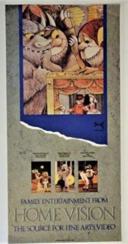 POSTER: Family Entertainment from Home Vision, The: Maurice Sendak (Illustrator)