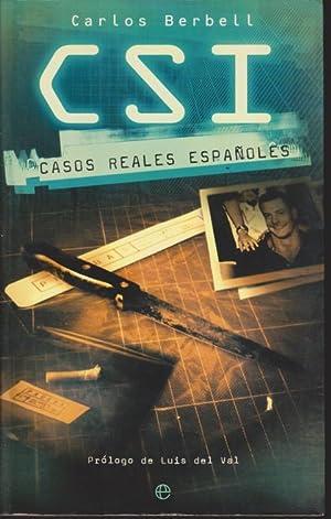CSI. CASOS REALES ESPAÑOLES: CARLOS BERBELL