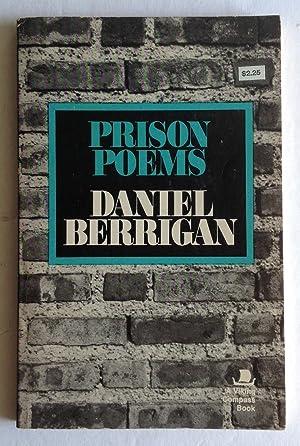 Prison Poems.: Daniel Berrigan.