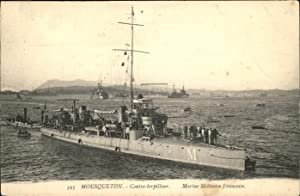 Postkarte Carte Postale 11204177 Marine Mousqueton Francaise