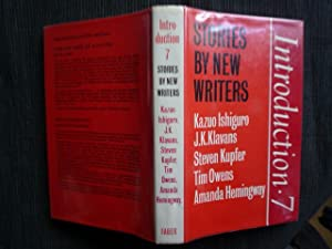 Introduction 7: Stories by New Writers (signed By Ishiguro)
