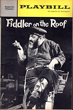 Playbill: Volume 1, No. 11, November, 1964: Wager, Walter (Editor)