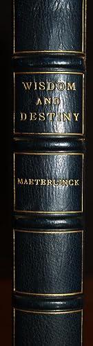 Wisdom and Destiny: Maurice Maeterlinck (Translated