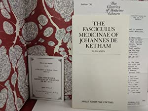Fasciculus Medicinae of Johannes De Ketham: Johannes De Ketham