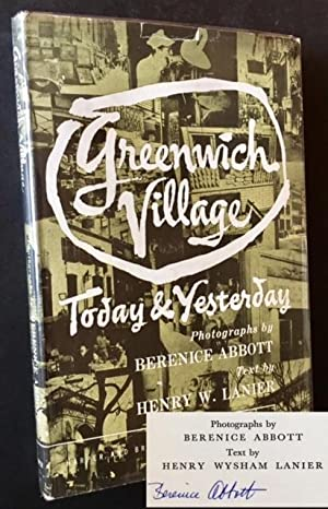 Greenwich Village: Today and Yesterday (Signed by Berenice Abbott)