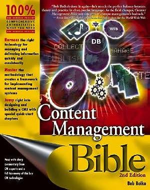 Content Management Bible (Paperback or Softback): Boiko, Bob