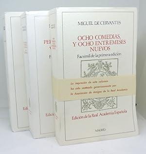 LOTE 3 - REAL ACADEMIA ESPAÑOLA -: CERVANTES, Miguel de