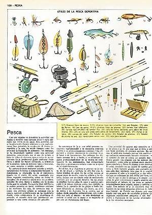 LAMINA MONITOR 0545: Utiles de pesca deportiva: Varios