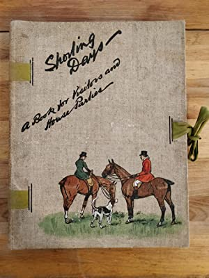 Seller image for Sporting Days. A Book for Visitors and House Parties. for sale by Reifsnyder Books