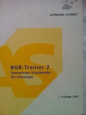 Seller image for BGB-Trainer 2 for sale by Versandantiquariat Jena