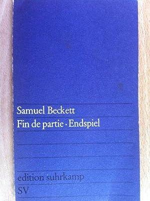 Fin de partie. Endspiel. franz. u. dt.: Beckett, Samuel