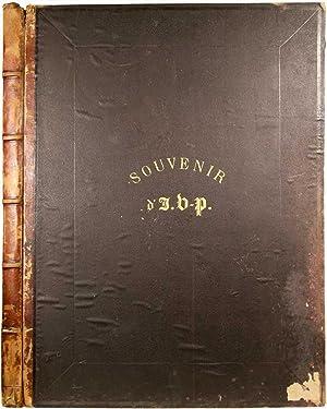 Souvenir d? J. V-P. (Titre sur la: VERNEILH-PUYRASEAU, Jules. Baron