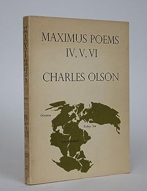 Immagine del venditore per Maximus Poems IV, V, VI venduto da Minotavros Books, ABAC/ILAB