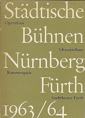 Einladung zur Platzmiete für die Spielzeit 1963/1964: Städtische Büchnen Nürnberg-Fürth