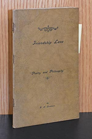 Friendship Lane; Poetry and Philosophy