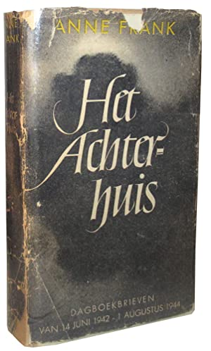 Collection of 188 items including rare unrestored first edition of Het Achterhuis (The Diary of A...