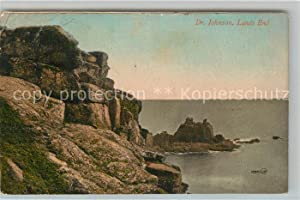 Postkarte Carte Postale 43041306 Penzance Dr Johnson Lands End Coast Penzance