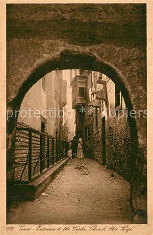 Postkarte Carte Postale 43357137 Cairo Egypt Eingang